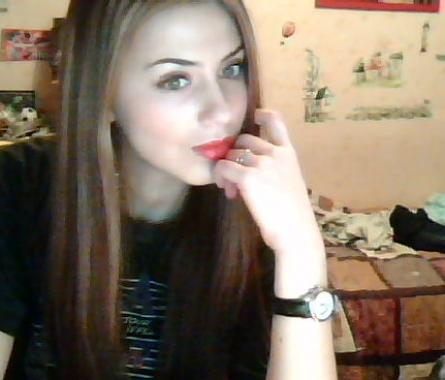 нежно девушка с вебкамерой историческим